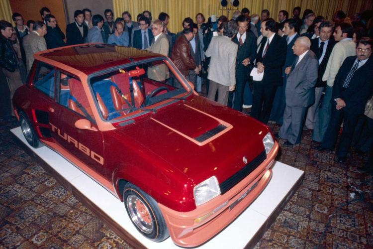 Presentació Renault 5 Tubro 1